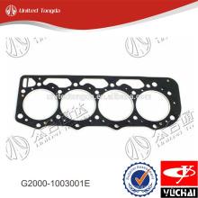 G2000-1003001E junta de culata de cilindro original yuchai YC4G