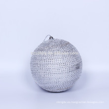 Pantalla de visualización Paillette brillante Polypam Bola de Navidad