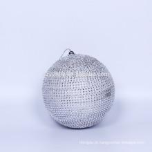 Janela de exposição Glade de paillette com bola de Natal