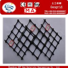 Material plástico y geomallas Tipo Material de construcción de carreteras Geomalla biaxial