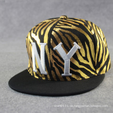Mode gestickte Baumwolle Polyester Baseball Sport Trukfit Cap (YKY3348)