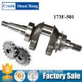 Professional Design Crankshaft Drawing, Steel Engine Crankshaft