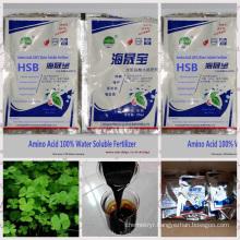 Amino Acid 100% Water Soluble liquid foliar fertilizer