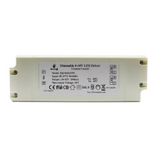 New design 0-10V dimming dimmable led driver 50w SAA