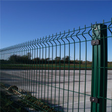 Triangle+Bending+Pvc+Coated+Welded+Wire+Mesh+Fence