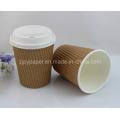Superfície de Matt Biodegrade-PLA Copo quente do papel do café (TIPO NOVO & QUENTE)