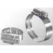 Pretty Stainless Steel American 5 Inch Hose Clamp With Claw 0.65mm Thickness