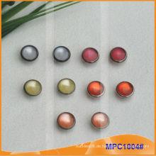 Prong Snap Button mit Mode Bunte Perle Mütze
