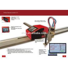 Máquina de corte do CNC do plasma de 1500 * 2500mm, cortador do CNC do plasma