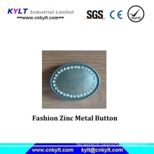 Fashion Zinc Metal Button