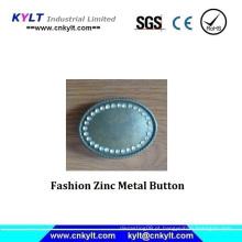Botão do metal do zinco da forma