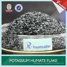 98% Super Humate de potassium Brillant brillant