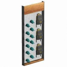 Clothing Display Rack with Metal Material, All Colors and Dimensions Can Be Changed