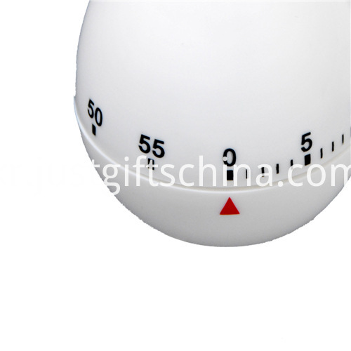 Promotional Plastic Kitchen Egg Shaped Timer3