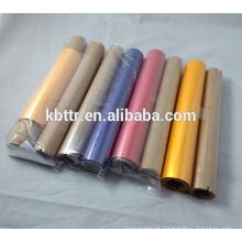 Fita para impressora de etiquetas de transferência térmica de grande largura de cor
