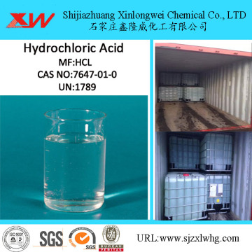 Industrial Synthesis Hydrochloric Acid 31%-33%