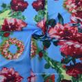 Kundenspezifische 100% Seide Fabric Digital Textile Printing (TLD-0055)