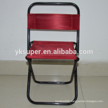 Folded metal fishing chair/ fishing stool with backpack