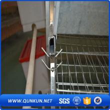Afraica trang trại chăn nuôi gia cầm thiết bị với 3 tầng /4 tầng pin lồng nuôi gà bán tốt