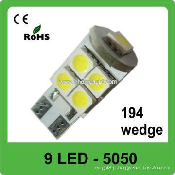 Novo design 9-SMD 5050 luzes carro automotivo levou