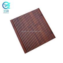 High quality dark bamboo decking