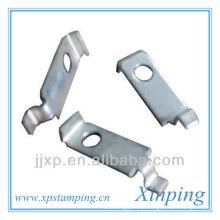 Folha de peças de estampagem de aço galvanizado personalizado