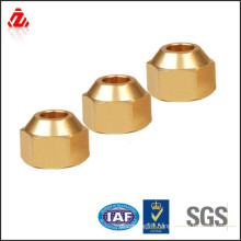 factory custom brass flare nut