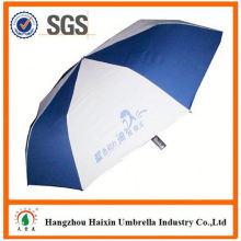 Precios baratos!! Paraguas plegable de golf de fábrica 2 fuente con asa torcida