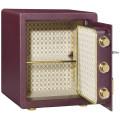 Банк использовал сейф мебелью блокировки отпечатков пальцев сейф стали безопасный шкаф для хранения