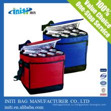 Подгонянный дешевый изолированный мешок охладителя обеда / мешок охладителя льда pvc