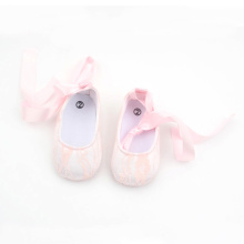 Bowknot Newborn Lace Antislip Baby Girl Dress Shoes