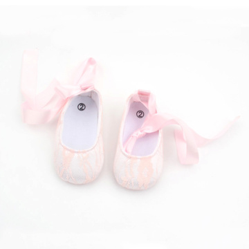 Bowknot Newborn Lace Antislip Baby Girl Dress Schoenen