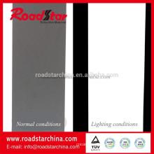 Reflexivo cuero artificial del PVC para la ropa