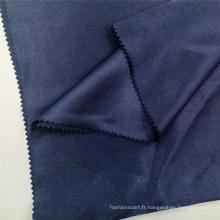 Tissu d'écharpes en polyester satiné lisse