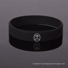 Fabrik Spezielle Design Religion Silikon benutzerdefinierte gedruckte Wristband