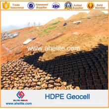 Géocellules en plastique HDPE utilisées comme quai indépendant et brise-lames