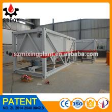 Silo DOM, silo horizontal, silo móvil del cemento, silo portable para la venta