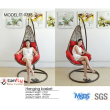 Elegant design leisure furniture wicker garden egg chair.
