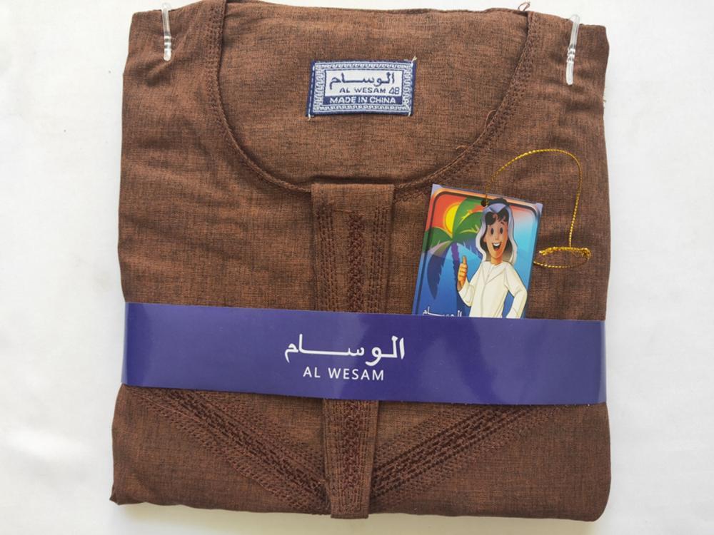 Breathable Fabric Muslim Thobe For Boy 1 Jpg
