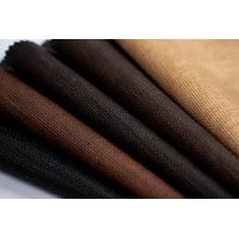 Nouveau style en cuir artificiel synthétique lisse de couleur unie