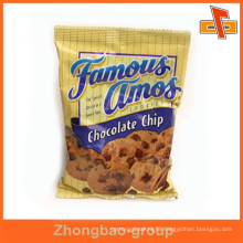 heat seal plastic cookie packaging bag with logo print
