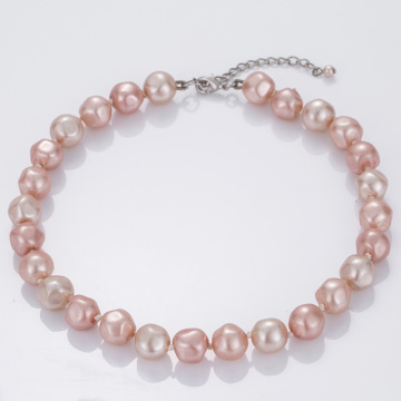 Baroque Beaded Pearls Necklace Wholesale