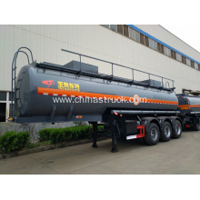PE Lined Steel Dilute Sulfuric Acid Trailer