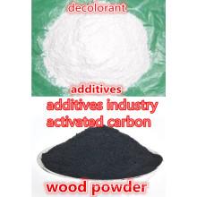 Aktivkohle als entfärbende Additive