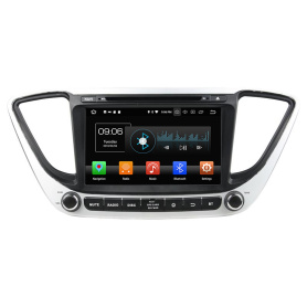 in dash car entertainment system for Verna 2017