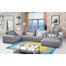 Wohnzimmer Möbel Stoff Sofa Set 3 Sitzer Ecksofa