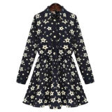 Women's floral printed shift dressesNew