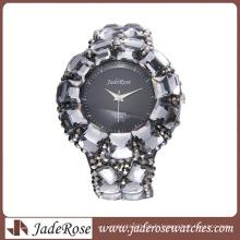 Montres personnalisées à la mode de diamant