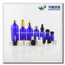 Hot Sale Cobalt Blue Glass Dropper Dispensing Bottles 5ml-100ml
