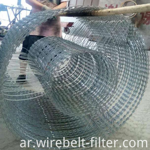 Double Concertina Wire